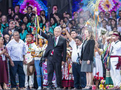 La toma de posesión de López Obrador como presidente de México, en imágenes