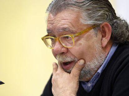 El concejal de Hacienda, el socialista Ramón Vilar, en una de sus comparecencias públicas.