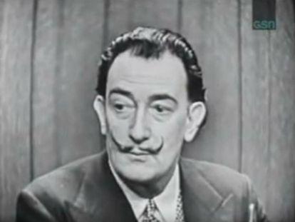 Dalí en 'What's my line'.
