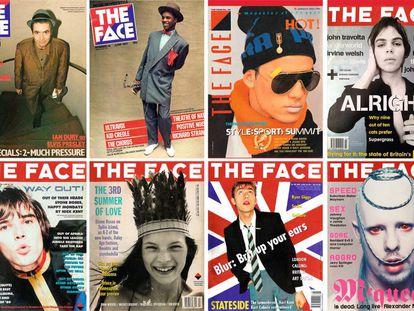 Se podría escribir la historia de la civilización occidental solo con las portadas de 'The Face'.