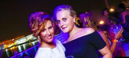 Laura del Hoyo y Marina Okarynska, las dos amigas de 24 y 26 años.