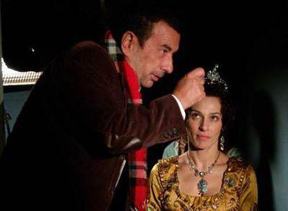 José Luis Garci dirige en <i>Sangre de mayo</i> a Natalia Millán.