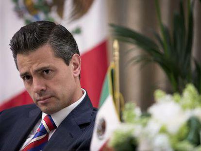 El presidente mexicano, Enrique Peña Nieto./ Jason Alden (Bloomberg)