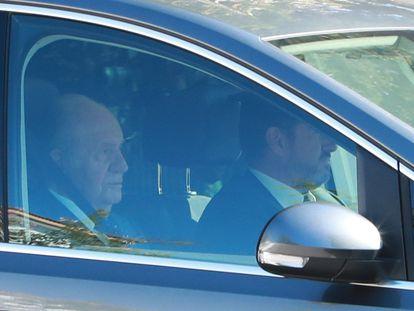 El Rey emérito Juan Carlos I, en una imagen tomada en octubre de 2019.