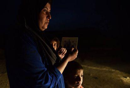 Sahora Hassan es madre de cinco hijos. Hace dos años que no sabe del paradero de su marido, Saed Abdallah Atya.