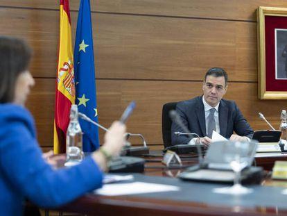 El presidente del Gobierno preside el Consejo de Ministros de este martes.