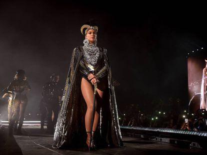 Beyoncé, durante su actuación del abril pasado en Coachella.