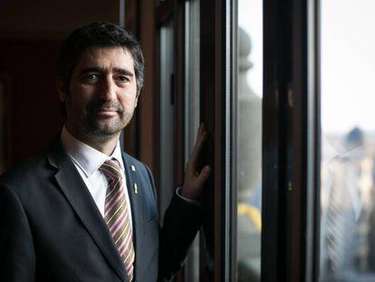 El consejero de Políticas Digitales y Administración Pública, Jordi Puigneró.