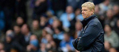 Arsene Wenger, en un partido del Arsenal.