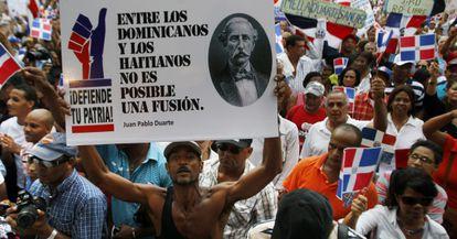Manifestación a favor de la sentencia del Constitucional.