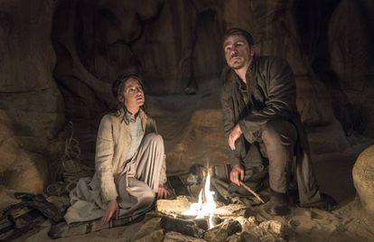 Josh Harnett en 'Penny Dreadful' en Almería.