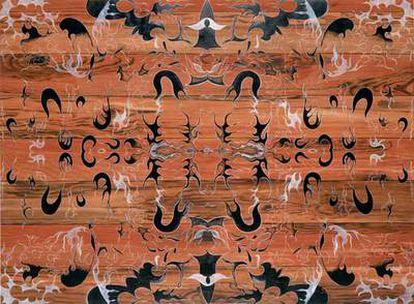 Una de la obras del artista, imagen cedida por la Gagosian Gallery
