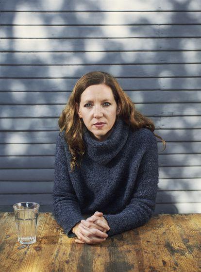 La autora estadounidense Maggie Nelson en Los Ángeles.