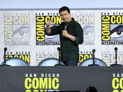 El actor muestra las primeras imágenes de la secuela de la película que lo convirtió en estrella