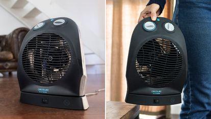 Elegimos este calefactor de aire caliente para combatir el frío en espacios pequeños de la casa o la oficina.