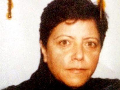 Foto de Maria Licciardi tomada tras su prisión en 14 de junio de 2001.