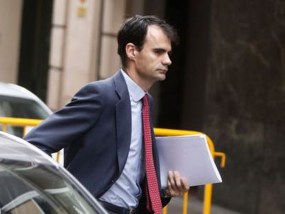 El juez de la  Audiencia Nacional Pablo Ruz.el pasado mayo.