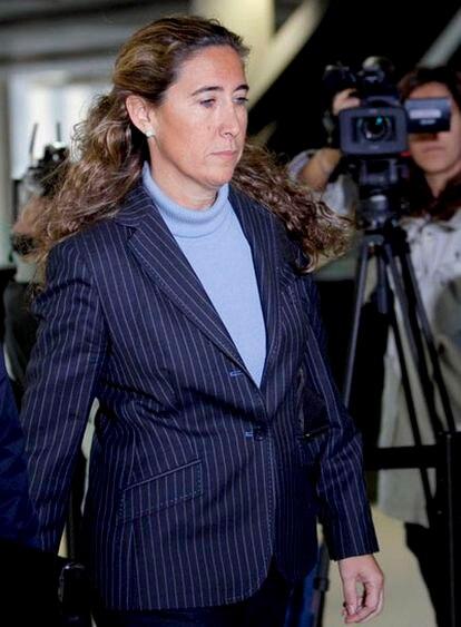 """Gemma Montull, ex directora financiera del Palau de la Música e hija de Jordi Montull, """"mano derecha"""" del ex presidente del Palau, Fèlix Millet."""
