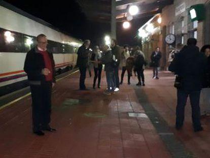 La línea Badajoz-Madrid sufre dos graves averías el primer día de 2019