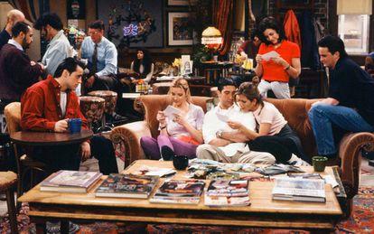 Fotograma de la teleserie Friends