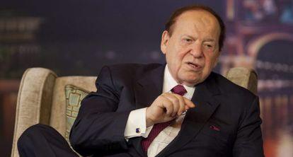 El multimillonario Sheldon G. Adelson.