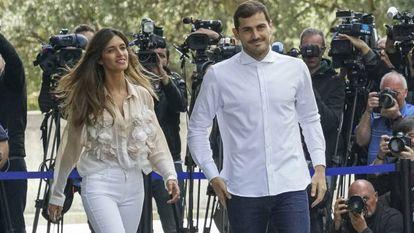 Iker Casillas y Sara Carbonero, en 2019.