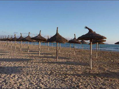 Playa de Can Pastilla.
