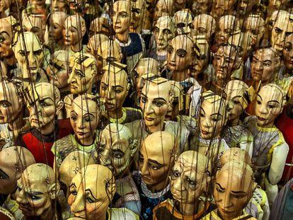 Las marionetas de  Carlo Colla e Figli.