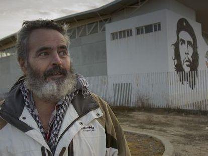 El alcalde de Marinaleda y parlamentario de IU, Juan Manuel Sánchez Gordillo.