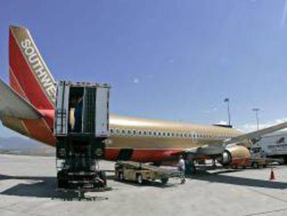 Fotografía de archivo que muestra un avión 737. EFE/Archivo