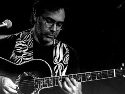 El guitarrista Al Di Meola en el Festival Internacional de Jazz de Vitoria de 1994.