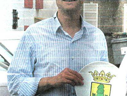 El alcalde Miguel Grima.
