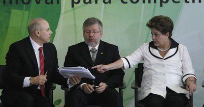 Rousseff, el martes durante un acto para estimular la inversión industrial.