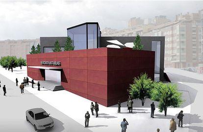 Simulación proporcionada por el Ayuntamiento del aspecto final del Mercado de Las Tablas.