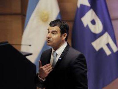 El presidente de la petrolera YPF, Miguel Galuccio. EFE/Archivo