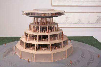 'Campus o la Babel del conocimiento, 2002-2004' de Carlos Garaicoa.