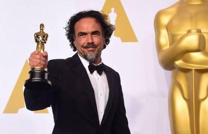 TOPSHOTS Director Alejandro Gonzalez Inarritu, ganador del Oscar AFP PHOTO / FREDERIC J. BROWN