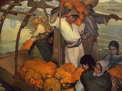 'La ofrenda', del pintor mexicano Saturnino Herrán.
