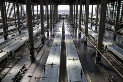 Vista general de la estación de Atocha.