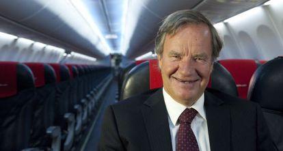 Bjørn Kjos, consejero delegado de Norwegian.
