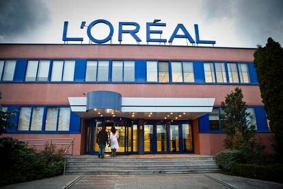 Fábrica de L'Oréal en Burgos.