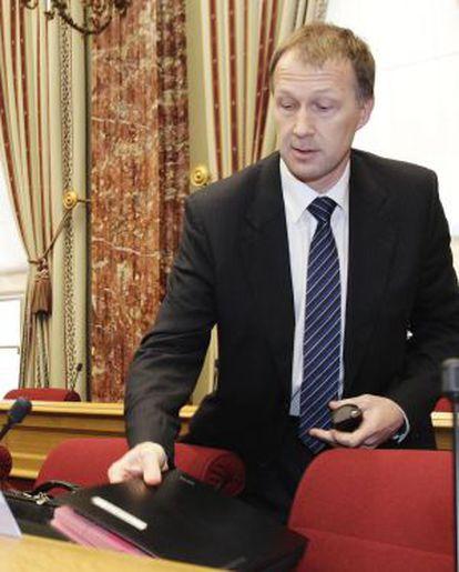 Marco Mille antiguo director de los servicios secretos.