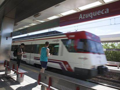 Estación de Azuqueca de la línea C2 de Cercanías.