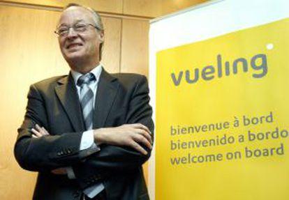 El presidente de Vueling Airlines, Josep Piqué.