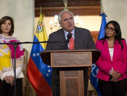El secretario general de UNASUR, Ernesto Samper.