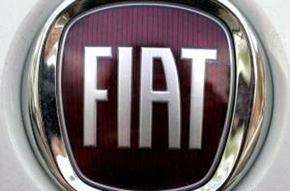 Logotipo de un coche Fiat. EFE/Archivo