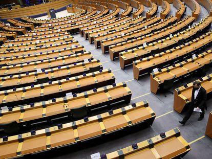 La sede del Parlamento Europeo en Bruselas, en una imagen del pasado febrero.