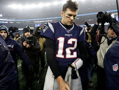 Brady, tras su último partido.
