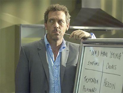 El enigmático doctor House, en una escena de la serie.