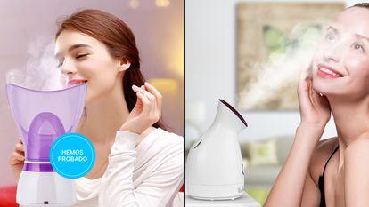 Probamos los mejores vaporizadores faciales baratos para casa.